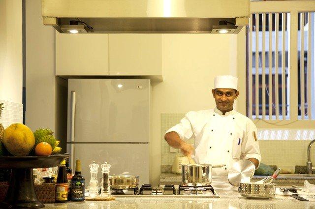 sri lankan chef