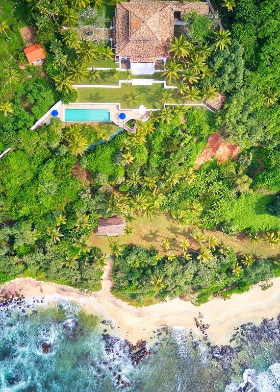Villa Beach access