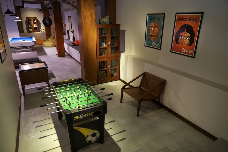 games room villa 50 talpe