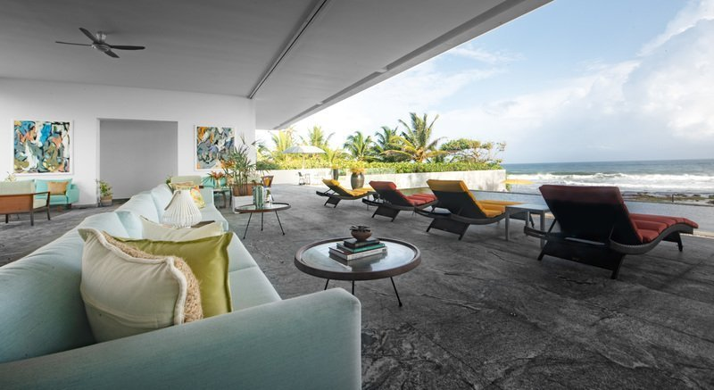 villa 50 talpe sri lanka open air living