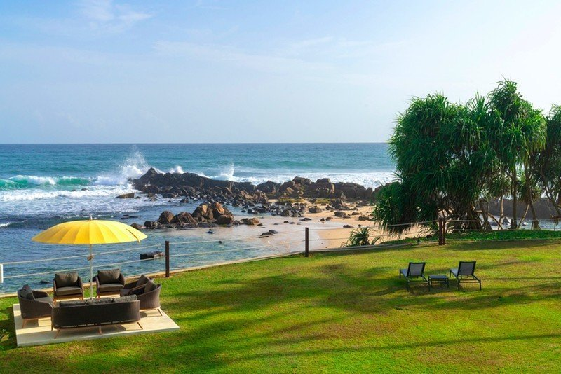 villa 50 talpe sri lanka beach view
