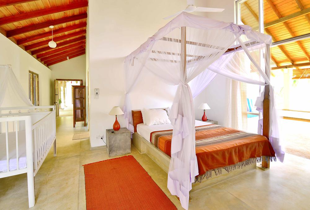 Master Suite Double bedroom Villa Dikwella Sri Lanka