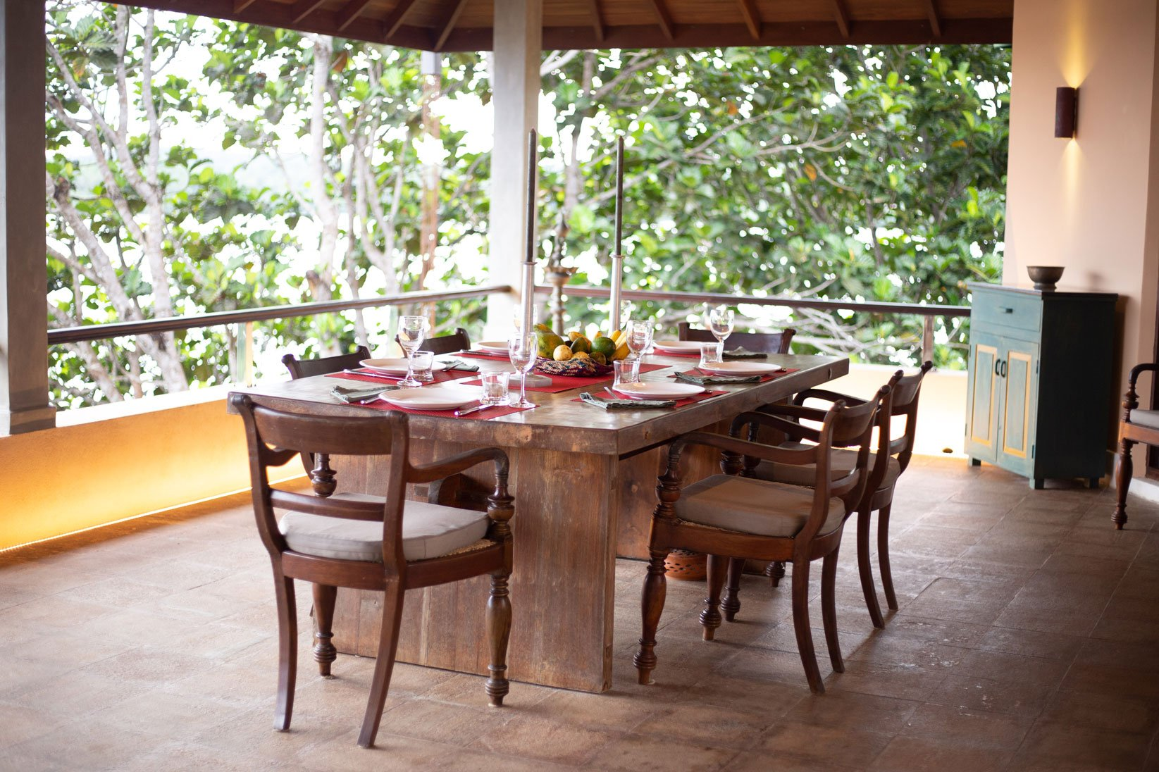 Food dining areas