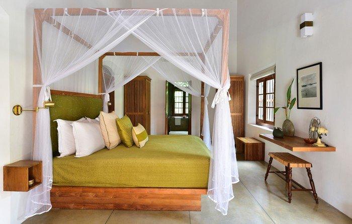Yoga Retreat villa Sri lanka Bedroom