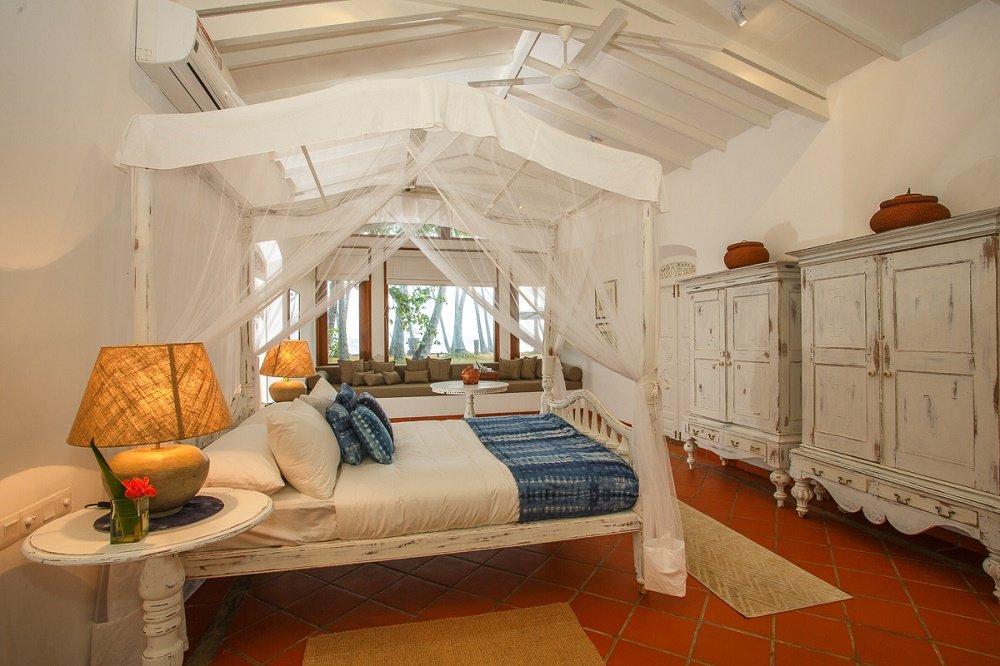 En-suite Master bedroom Victoria Villa Sri lanka