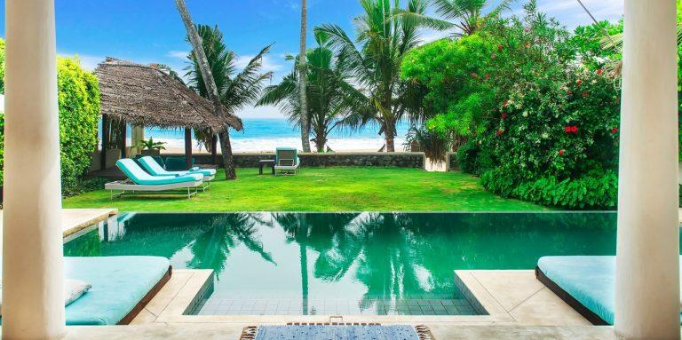 two bedroom luxury villa on Habaraduwa beach Sri Lanka