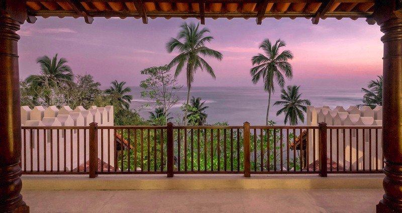 Balcony beach views Villa Weligama