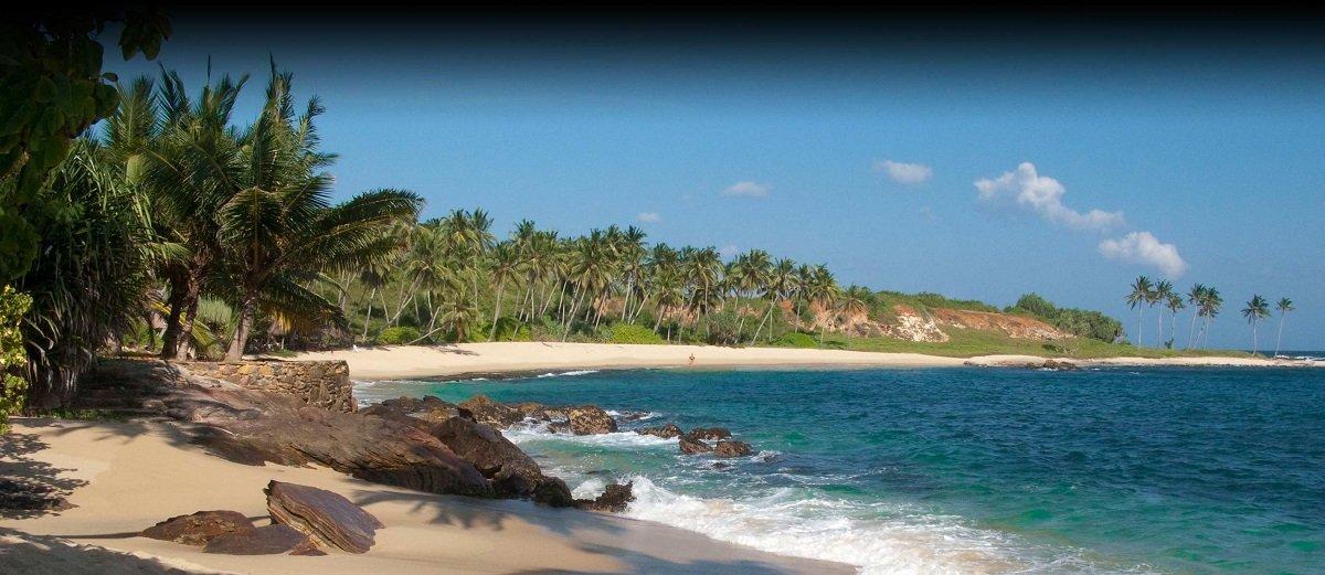 Location Beach Kadju villa Sri lanka