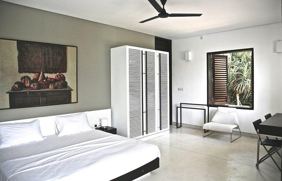 Double Ensuite bedroom Villa 123 Tangalle
