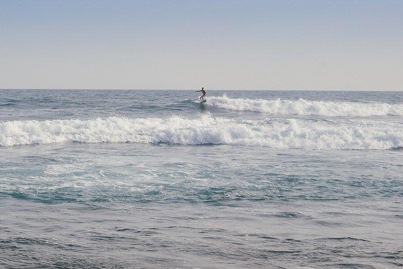 Surfing Stell Beach villas