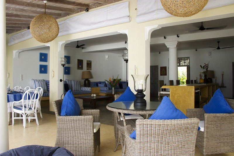 Galle Beach Villa interior