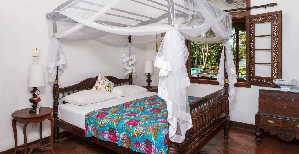 Ensuite double bedrooms villa weligama