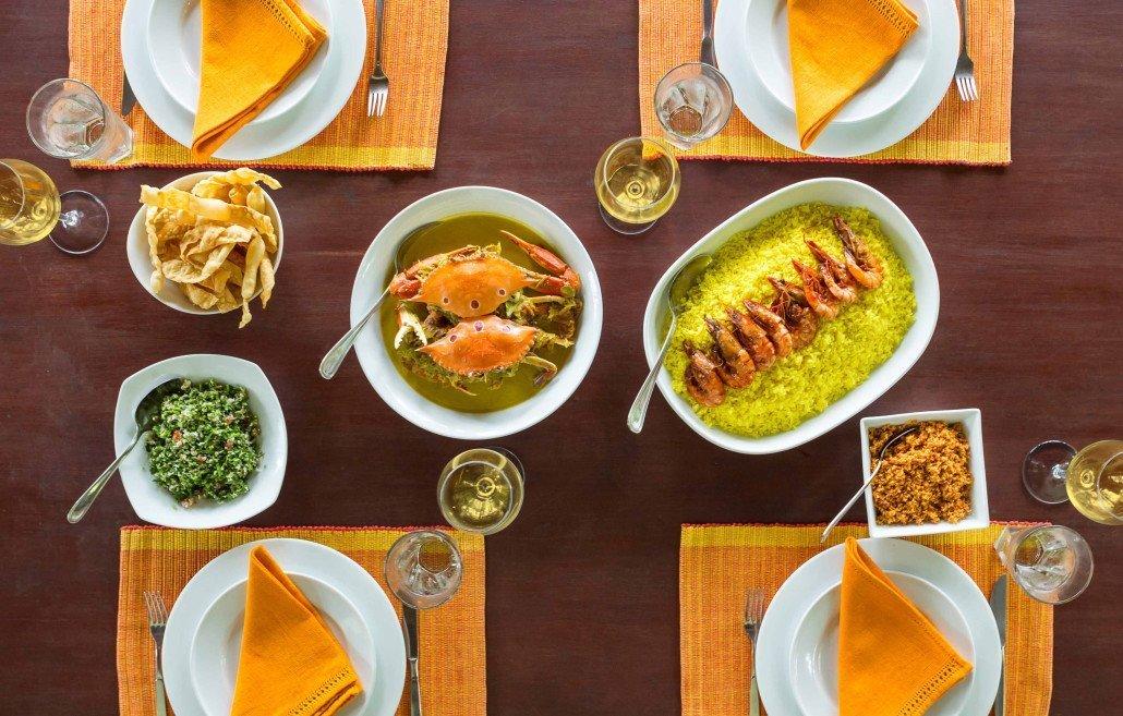 Meals Crab dish