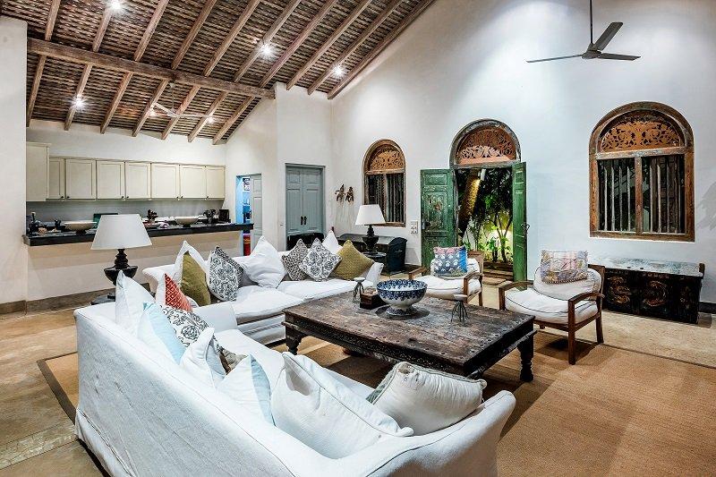 living room galle villa sri lanka