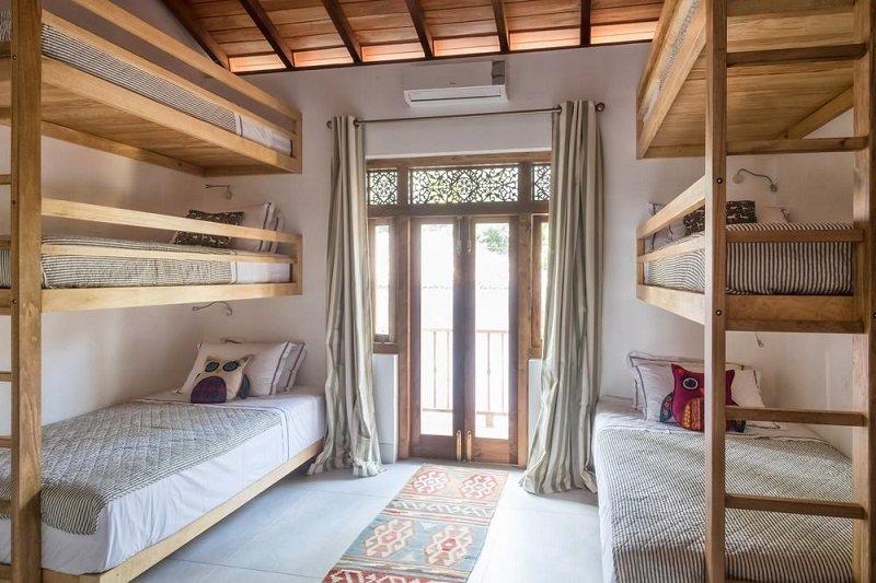 full Kids Bunk bedroom Luxury family villa dikwella sri lanka