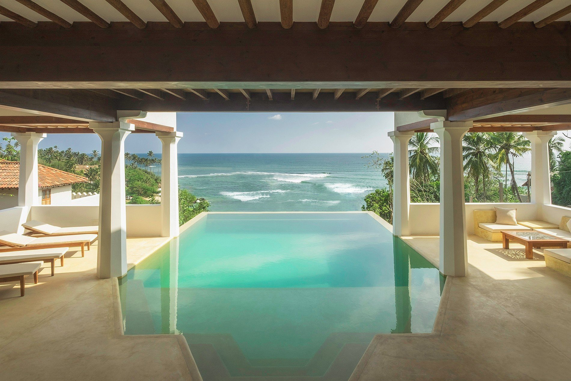 ocean view villa in weligama