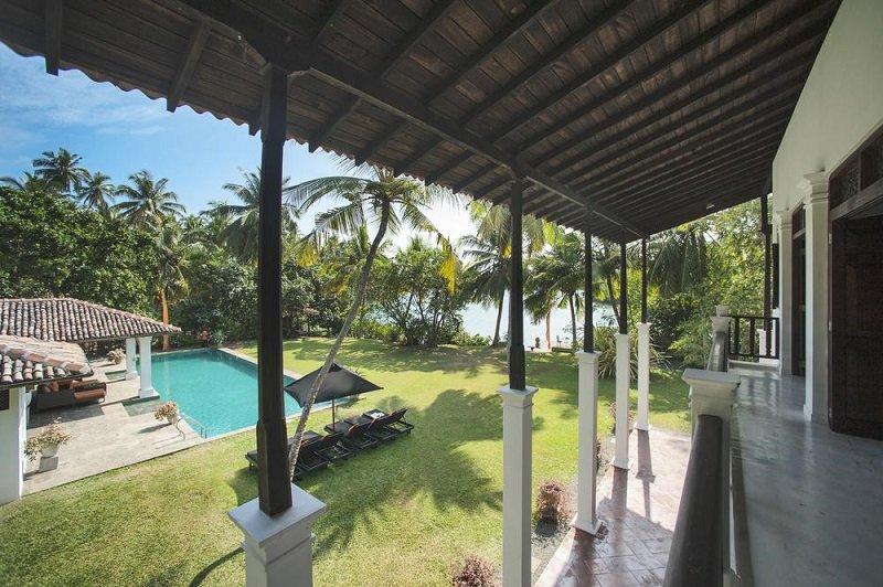 Pool Garden Lake Villa Koggala Mandalay Sri Lanka