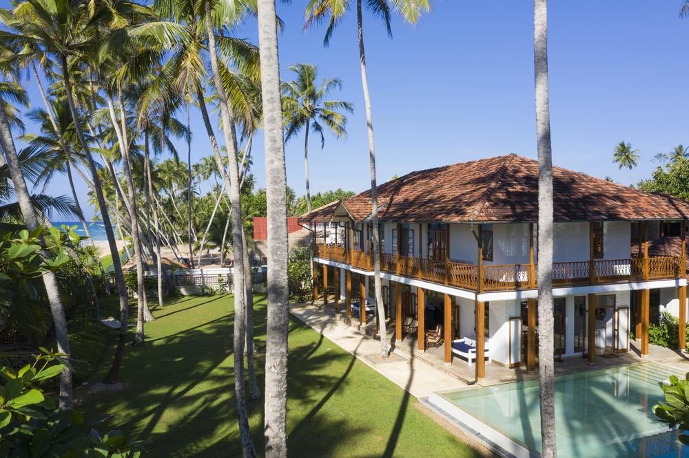 villa 59 ideal for beachfront weddings in Galle