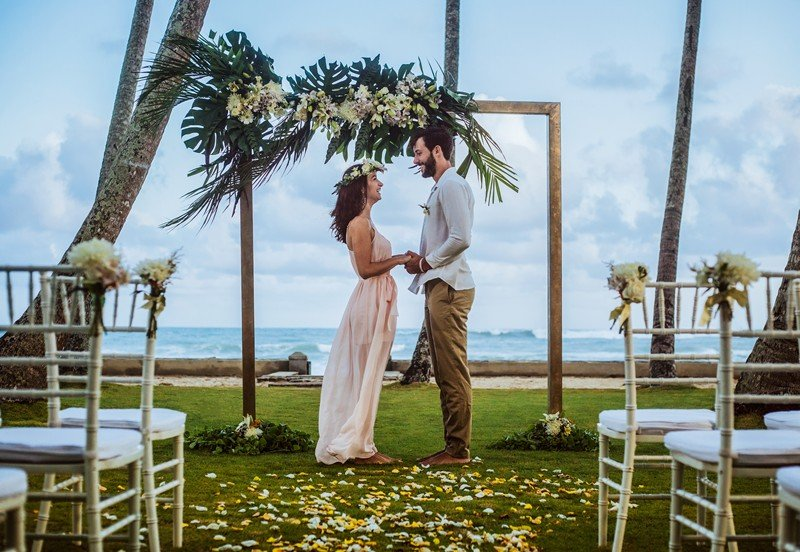 beachfront wedding in sri lanka
