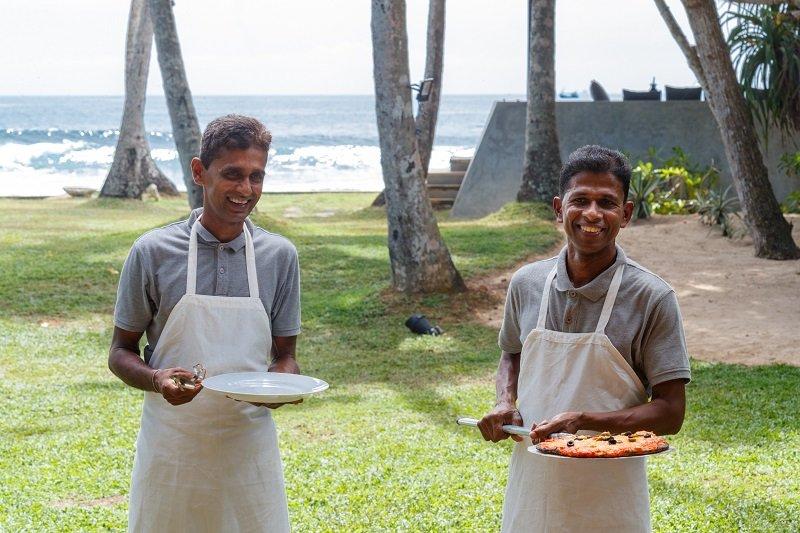 Staff Villa Victoria Sri Lanka