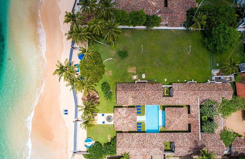 House beach pool Auraliya villa Sri lanka
