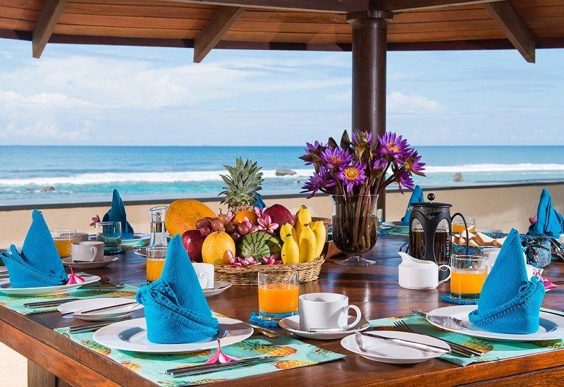 Breakfast Auraliya villa Galle