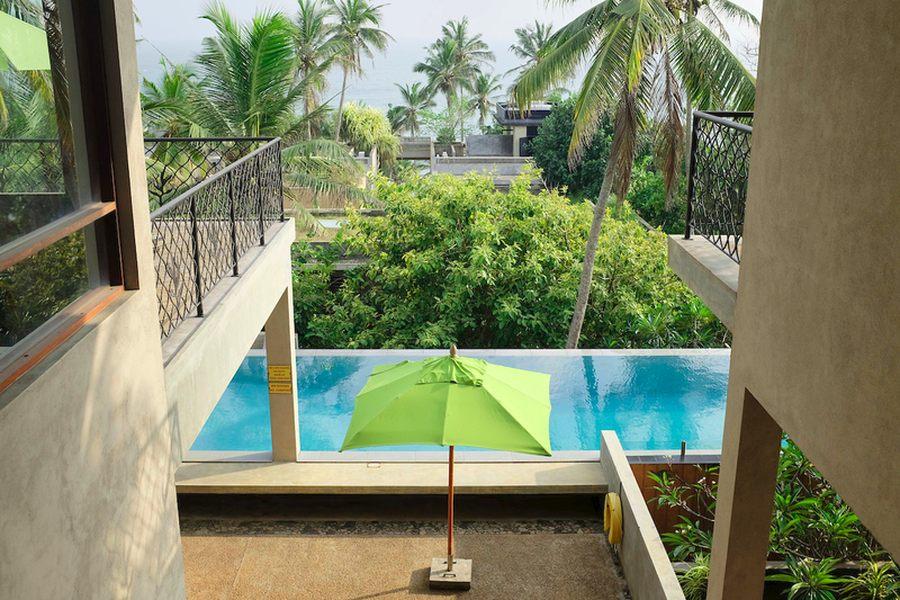 Pool Beachfront villa in Mirissa, Sri Lanka