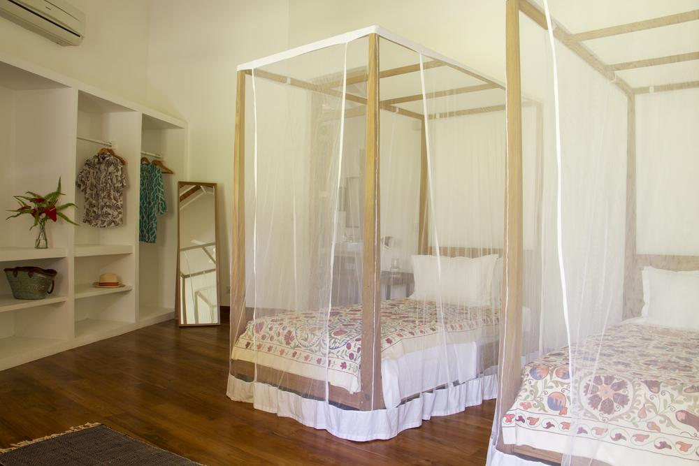 Twin ensuite bedroom Boundary house