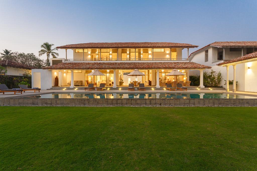 Garden pool villa in sri lanka south coast