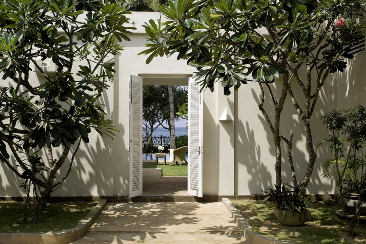 Sri villas entrance gate