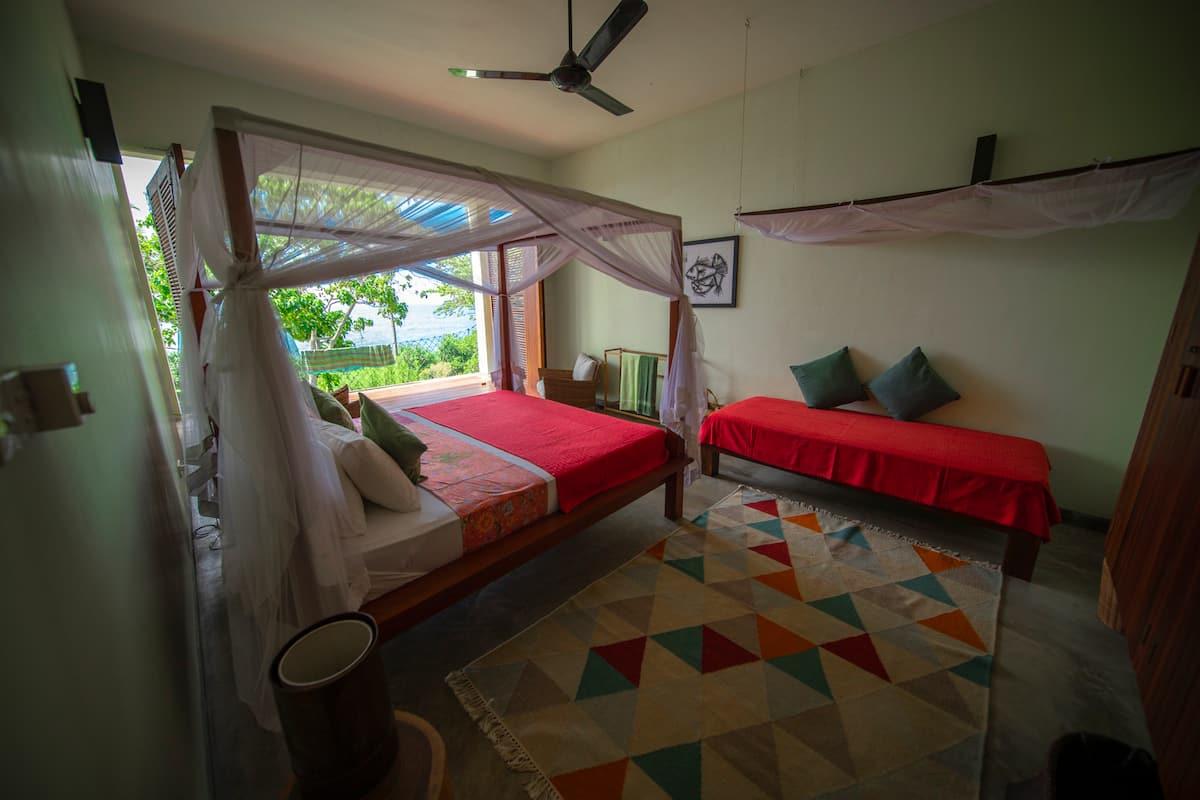 Ocean bedroom ensuite